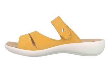 Romika Ibiza 110 Pantoletten in Übergrößen Gelb 16110 001 800 große Damenschuhe – Bild 1