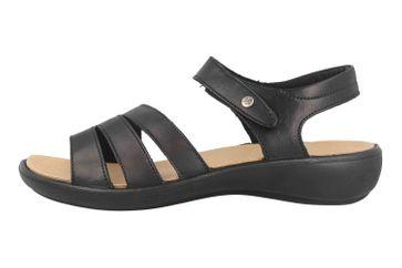 Romika Ibiza 111 Sandalen in Übergrößen Schwarz 16111 189 100 große Damenschuhe – Bild 1
