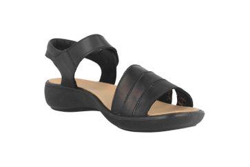 Romika Ibiza 111 Sandalen in Übergrößen Schwarz 16111 189 100 große Damenschuhe – Bild 5