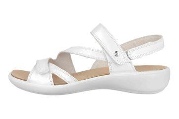 Romika Ibiza 105 Sandalen in Übergrößen Weiß 16105 194 010 große Damenschuhe – Bild 1
