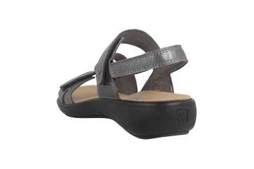 Romika Ibiza 105 Sandalen in Übergrößen Grau 16105 194 770 große Damenschuhe – Bild 2