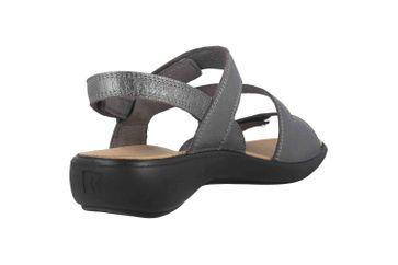 Romika Ibiza 105 Sandalen in Übergrößen Grau 16105 194 770 große Damenschuhe – Bild 3