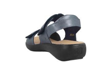Romika Ibiza 109 Sandalen in Übergrößen Blau 16109 133 530 große Damenschuhe – Bild 2