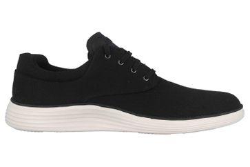 Skechers STATUS 2.0 BURBANK Sneaker in Übergrößen Schwarz 204083 BLK große Herrenschuhe – Bild 4