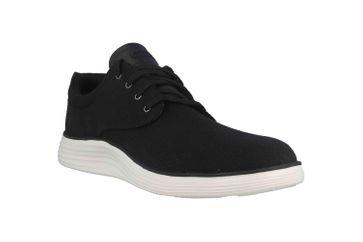 Skechers STATUS 2.0 BURBANK Sneaker in Übergrößen Schwarz 204083 BLK große Herrenschuhe – Bild 5