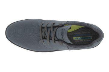 Skechers STATUS 2.0 BURBANK Sneaker in Übergrößen Grau 204083 CHAR große Herrenschuhe – Bild 7