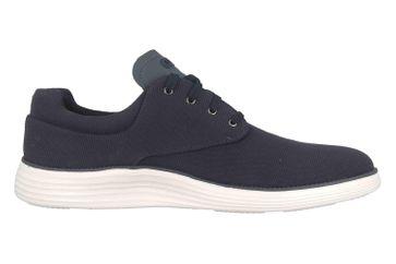 Skechers STATUS 2.0 BURBANK Sneaker in Übergrößen Blau 204083 NVY große Herrenschuhe – Bild 4