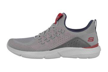 Skechers INGRAM STREETWAY Sneaker in Übergrößen Grau 210028 GRY große Herrenschuhe – Bild 1