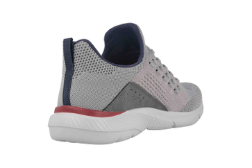Skechers INGRAM STREETWAY Sneaker in Übergrößen Grau 210028 GRY große Herrenschuhe – Bild 3