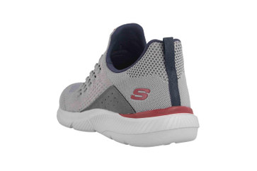 Skechers INGRAM STREETWAY Sneaker in Übergrößen Grau 210028 GRY große Herrenschuhe – Bild 2