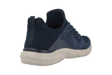 Skechers INGRAM STREETWAY Sneaker in Übergrößen Blau 210028 NVY große Herrenschuhe – Bild 3