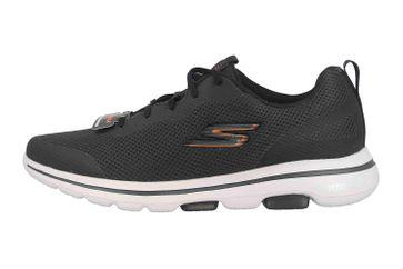 Skechers GO WALK 5 SQUALL Sportschuhe in Übergrößen Schwarz 216011 BKOR große Herrenschuhe – Bild 1