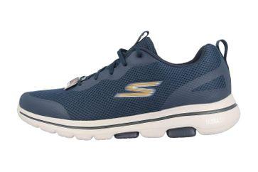 Skechers GO WALK 5 SQUALL Sportschuhe in Übergrößen Blau 216011 NVGD große Herrenschuhe – Bild 1