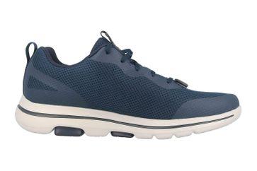 Skechers GO WALK 5 SQUALL Sportschuhe in Übergrößen Blau 216011 NVGD große Herrenschuhe – Bild 4