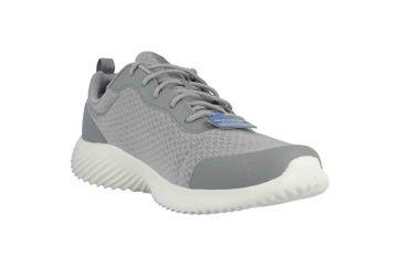 Skechers BOUNDER VOLTIS Sneaker in Übergrößen Grau 232005 GRY große Herrenschuhe – Bild 5