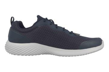 Skechers BOUNDER VOLTIS Sneaker in Übergrößen Blau 232005 NVY große Herrenschuhe – Bild 4