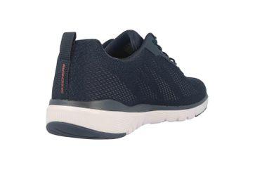 Skechers FLEX ADVANTAGE 3.0 SKAPP Sneaker in Übergrößen Blau 232059 NVRD große Herrenschuhe – Bild 3