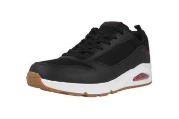 Skechers UNO FASTIME Sneaker in Übergrößen Schwarz 237016 BKRD große Herrenschuhe – Bild 6