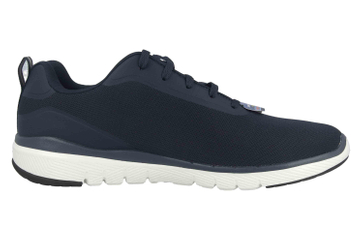 Skechers FLEX ADVANTAGE 3.0 LANDESS Sneaker in Übergrößen Blau 52751 NVY große Herrenschuhe – Bild 4