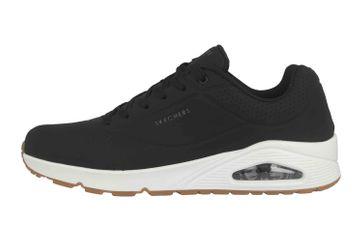 Skechers UNO STAND ON AIR Sneaker in Übergrößen Schwarz 52458 BLK große Herrenschuhe – Bild 1