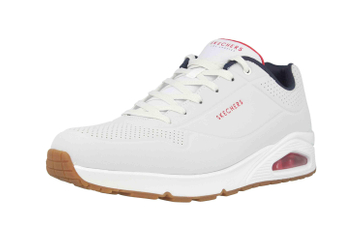 Skechers UNO STAND ON AIR Sneaker in Übergrößen Weiß 52458 WNVR große Herrenschuhe – Bild 6
