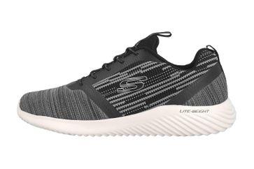 Skechers BOUNDER Sneaker in Übergrößen Schwarz 52504 BKGY große Herrenschuhe – Bild 1