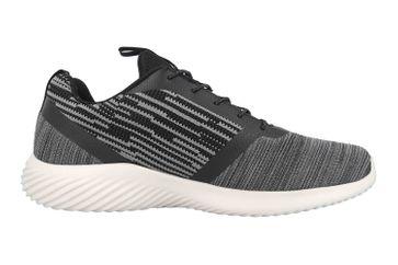 Skechers BOUNDER Sneaker in Übergrößen Schwarz 52504 BKGY große Herrenschuhe – Bild 4