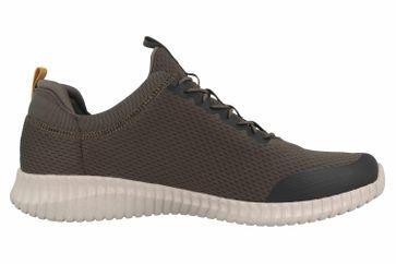 Skechers ELITE FLEX BELBURN Sneaker in Übergrößen Grün 52529 OLV große Herrenschuhe – Bild 4