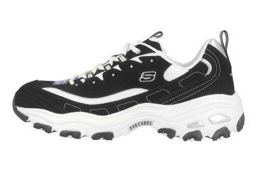 Skechers D'LITES Sneaker in Übergrößen Schwarz 52675 BKW große Herrenschuhe – Bild 1