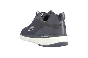 Skechers FLEX ADVANTAGE 3.0 LANDESS Sneaker in Übergrößen Grau 52751 CHAR große Herrenschuhe – Bild 2