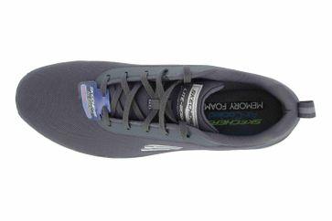 Skechers FLEX ADVANTAGE 3.0 LANDESS Sneaker in Übergrößen Grau 52751 CHAR große Herrenschuhe – Bild 7