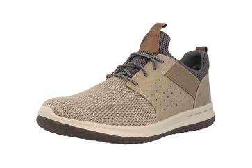 Skechers DELSON CAMBEN Sneaker in Übergrößen Grau 65474 TPE große Herrenschuhe – Bild 6