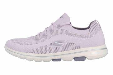 Skechers GO WALK 5 UPRISE Sneaker in Übergrößen Violett 124010 LAV große Damenschuhe – Bild 1