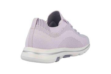 Skechers GO WALK 5 UPRISE Sneaker in Übergrößen Violett 124010 LAV große Damenschuhe – Bild 3