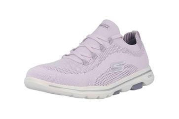 Skechers GO WALK 5 UPRISE Sneaker in Übergrößen Violett 124010 LAV große Damenschuhe – Bild 6
