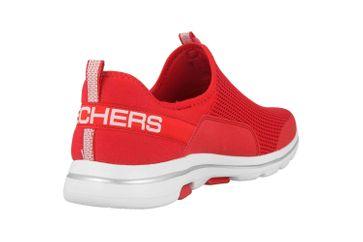 Skechers GO WALK 5 SOVEREIGN Slipper in Übergrößen Rot 124013 RED große Damenschuhe – Bild 3