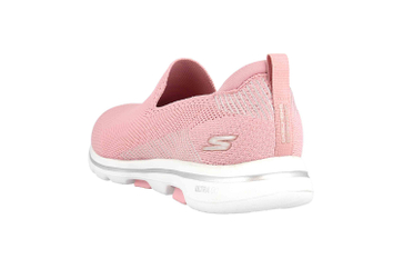 Skechers GO WALK 5 PRIZED Slipper in Übergrößen Pink 15900 LTPK große Damenschuhe – Bild 2