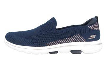 Skechers GO WALK 5 PRIZED Slipper in Übergrößen Blau 15900 NVY große Damenschuhe – Bild 1