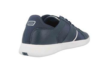 Lacoste NOVAS 120 1 SMA Sneaker in Übergrößen Blau 39SMA0010092 große Herrenschuhe – Bild 3
