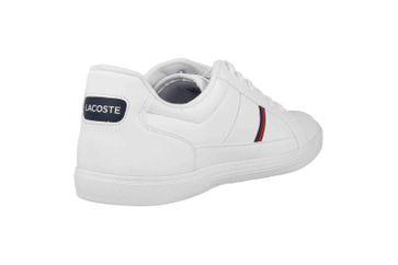 Lacoste EUROPA TRI1 SMA Sneaker in Übergrößen Weiß 39SMA0031407 große Herrenschuhe – Bild 3