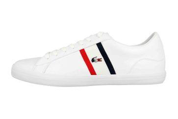 Lacoste LEROND TRI1 CMA Sneaker in Übergrößen Weiß 39CMA0044407 große Herrenschuhe – Bild 1