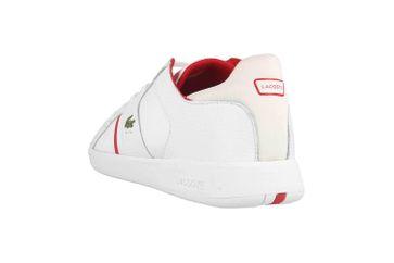 Lacoste NOVAS 120 1 SMA Sneaker in Übergrößen Weiß 39SMA0010286 große Herrenschuhe – Bild 2