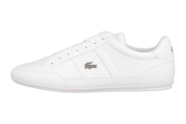 Lacoste CHAYMON BL 1 CMA Sneaker in Übergrößen Weiß 37CMA009421G große Herrenschuhe – Bild 1