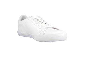 Lacoste LEROND BL 1 CAM Sneaker in Übergrößen Weiß 33CAM1032001 große Herrenschuhe – Bild 5