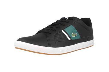 Lacoste EUROPA 120 1 SMA Sneaker in Übergrößen Schwarz 39SMA00061B4 große Herrenschuhe – Bild 6
