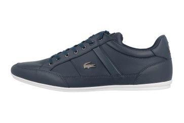 Lacoste CHAYMON BL 1 CMA Sneaker in Übergrößen Blau 37CMA0094092 große Herrenschuhe – Bild 1