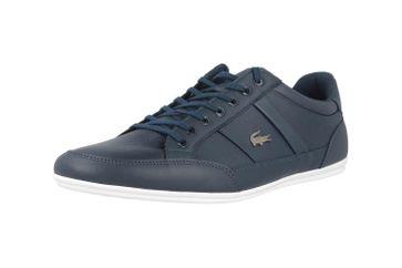 Lacoste CHAYMON BL 1 CMA Sneaker in Übergrößen Blau 37CMA0094092 große Herrenschuhe – Bild 6