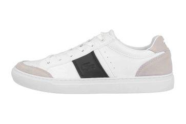 Lacoste COURTLINE 319 1 US CMA Sneaker in Übergrößen Weiß 38CMA0074147 große Herrenschuhe – Bild 1