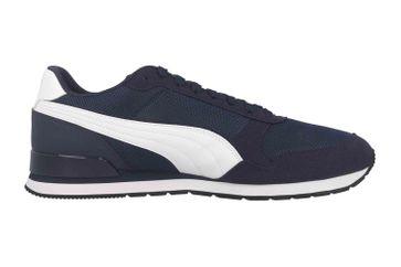 Puma ST Runner v2 Mesh Sneaker in Übergrößen Blau 366811 03 große Herrenschuhe – Bild 4