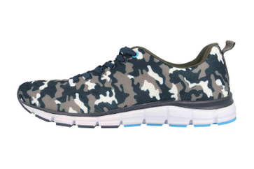 Boras SP Sports Sneaker Camo Sneaker in Übergrößen Mehrfarbig 5202-1561 große Herrenschuhe – Bild 1